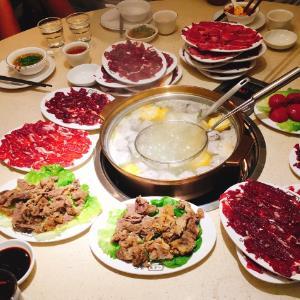 海记牛肉主题火锅店