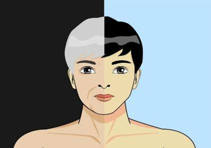 白发转黑发