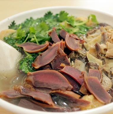 回味鸭血粉丝汤