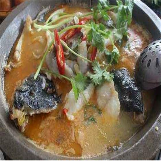 巴蜀石锅鱼