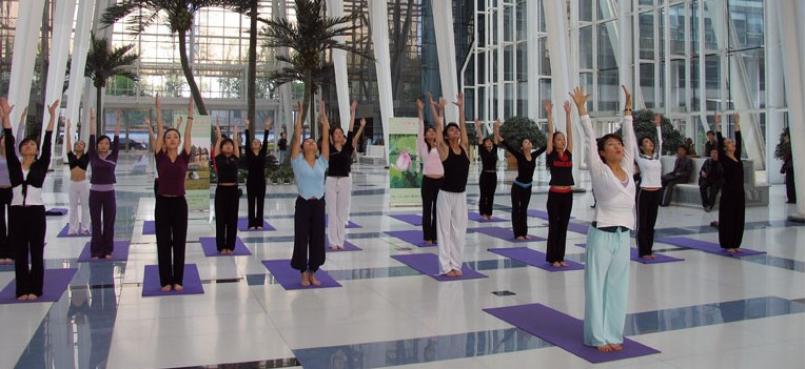 雨桐瑜伽加盟