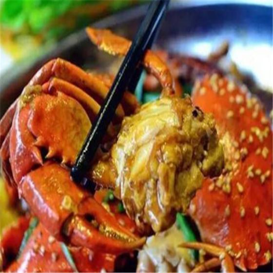 疯味肉蟹煲