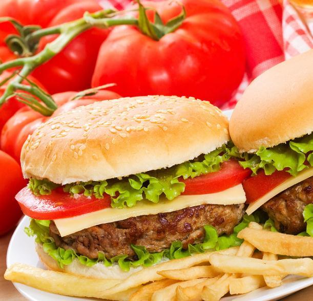 快樂星漢堡西餐