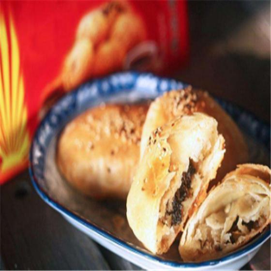 鴨油酥燒餅
