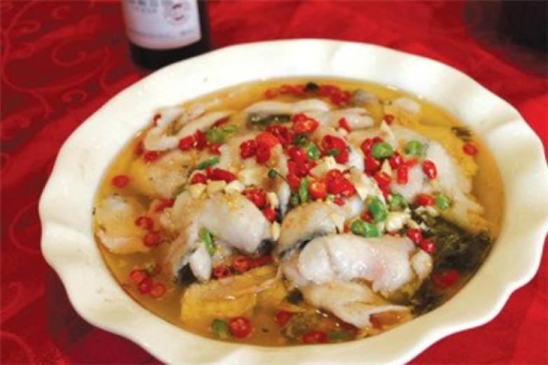 四川酸菜鱼加盟