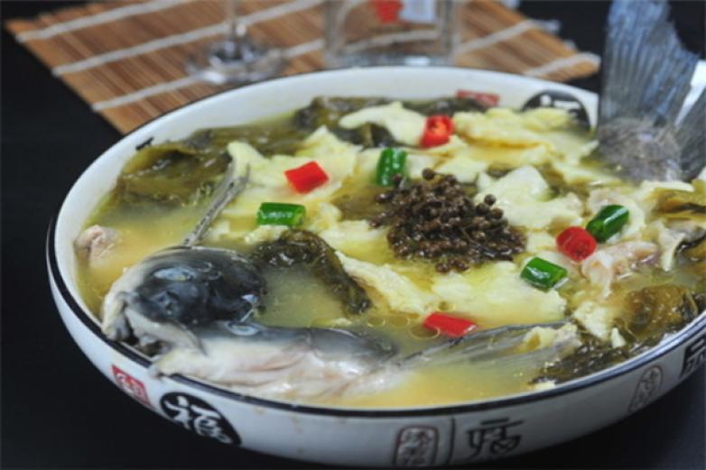 水煮酸菜鱼加盟
