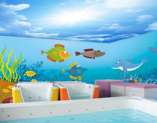 宝贝计划婴儿游泳馆